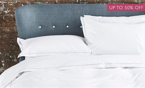 SALE WHITE COLLECTION BED LINEN