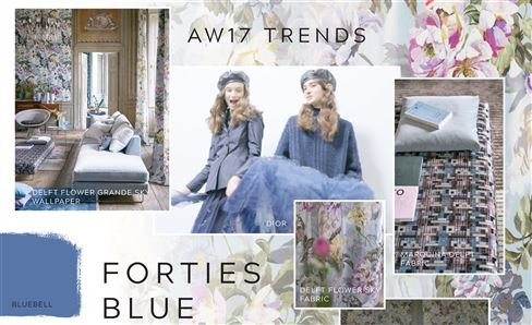Trend: Forties Blue