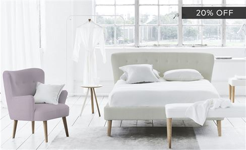 20% OFF BESPOKE BEDROOM FURNITURE