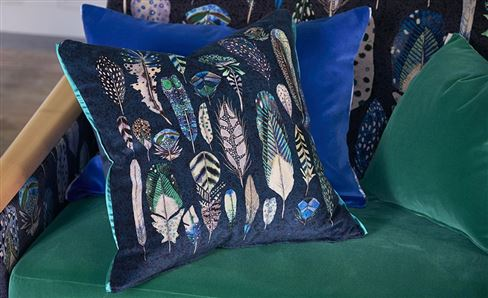 BLUE & GREEN CUSHIONS