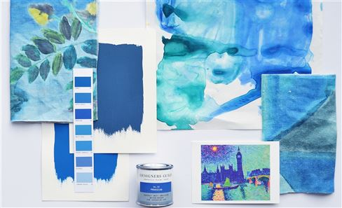 Moodboard: The artist's palette