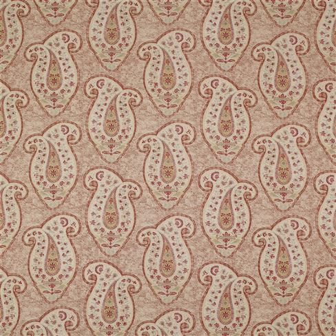 Stepping Stone Paisley Red Earth