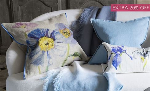 SALE FLORAL DECORATIVE PILLOWS