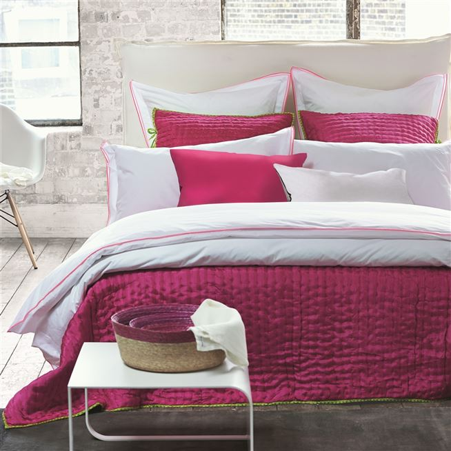 Astor Peony And Pink Bedding | Designers Guild