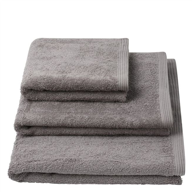 Thirlmere Charcoal Hand Towel