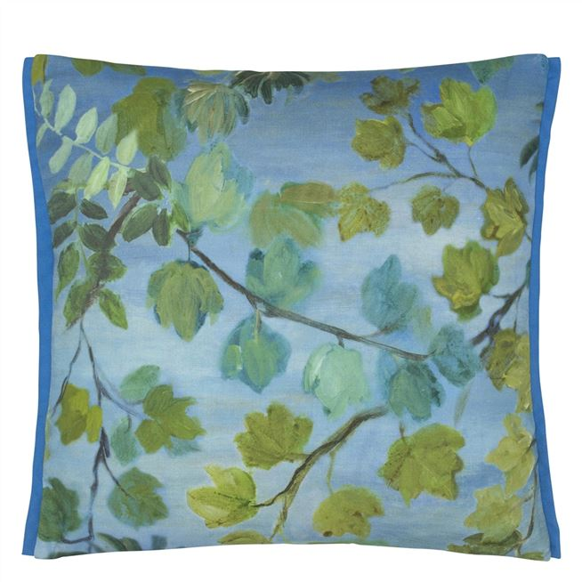 Giardino Segreto Outdoor Cornflower Cushion