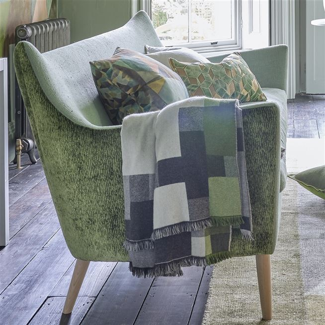 Plaid Cavendish Graphite  | Designers Guild