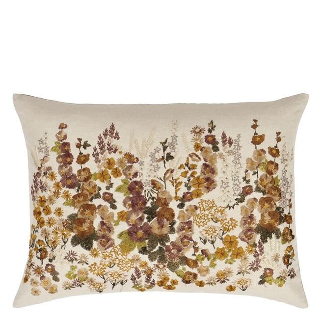 Hollyhock Ochre Cushion