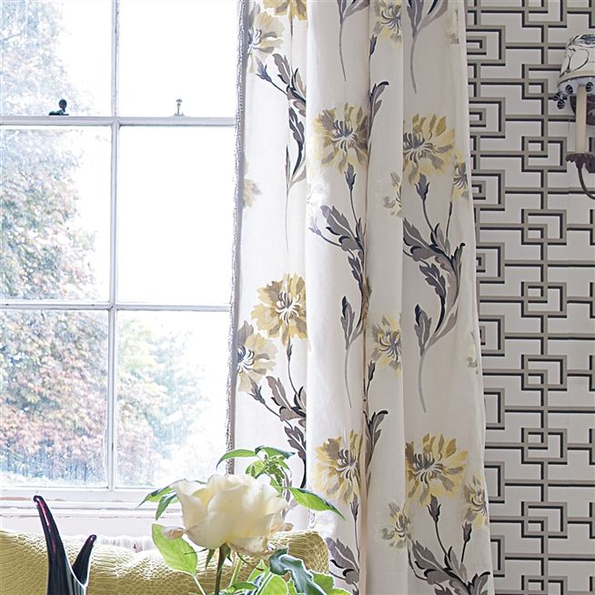 cassan - chalk fabric | Designers Guild