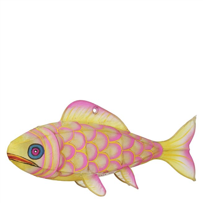 Yellow Carp Paper Mobile