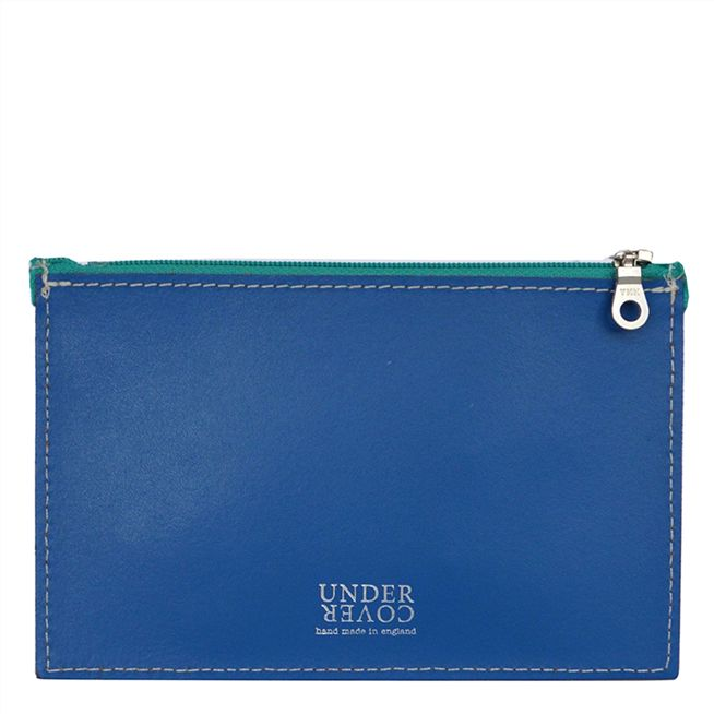 Cobalt Small Leather Wallet