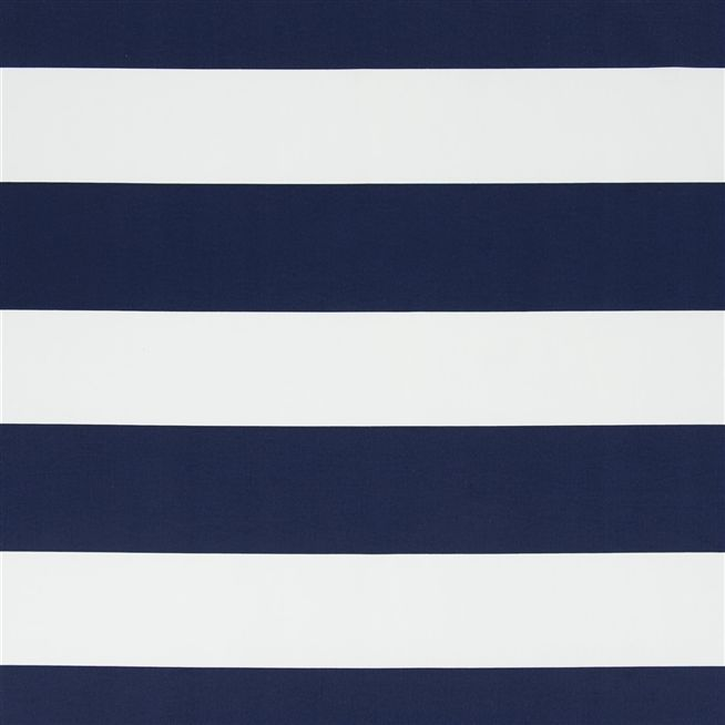 Lighthouse Stripe White/navy - Cutting - Lighthouse Stripe - White/navy Fabric Ralph Lauren