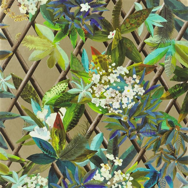 canopy or wallpaper christian lacroix