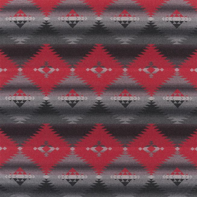 Blackstone River Blanket - Cochineal Cutting