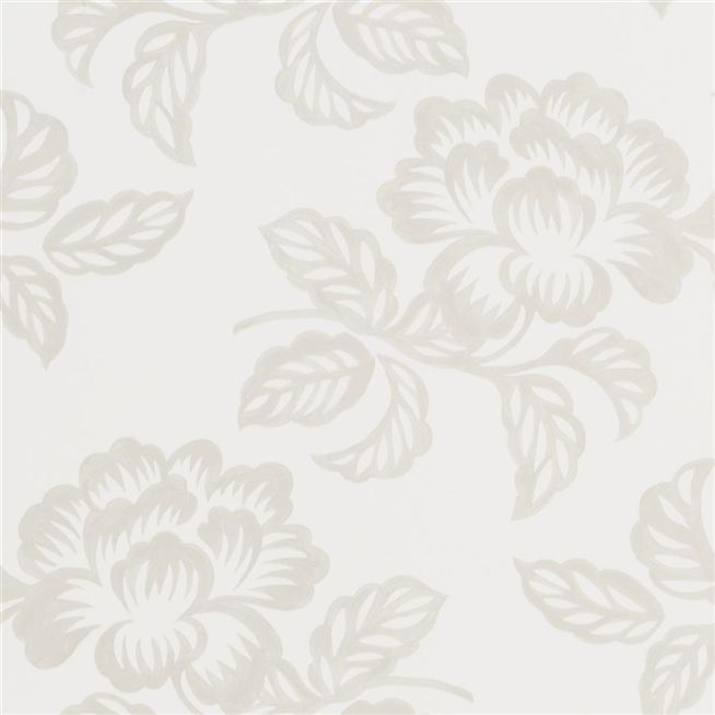 Berettino Ivory Wallpaper Designers Guild