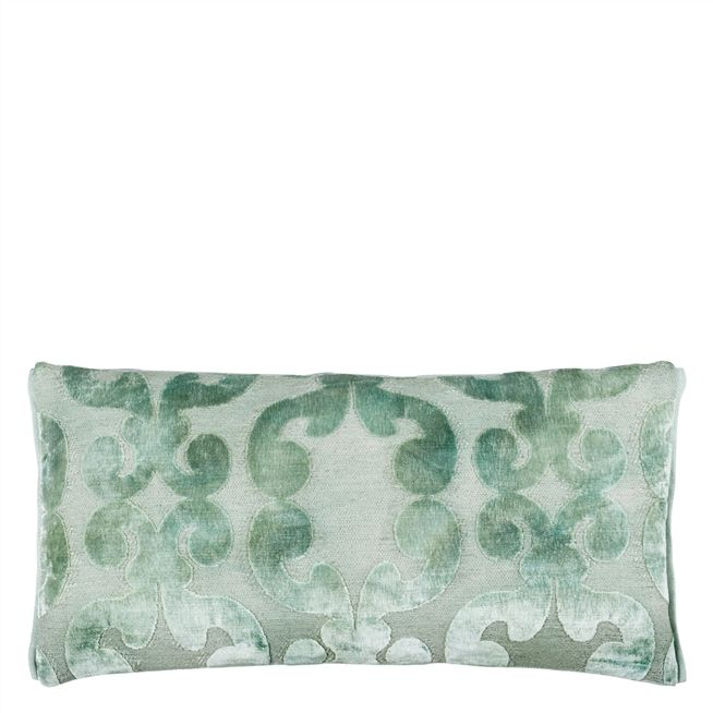 Iridato Pale Aqua Cushion