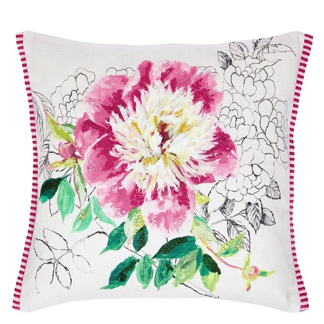 Sibylla Fuchsia Cushion