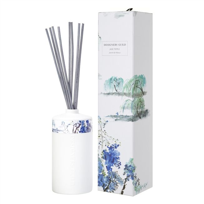 Jade Temple Candle and Diffuser Set