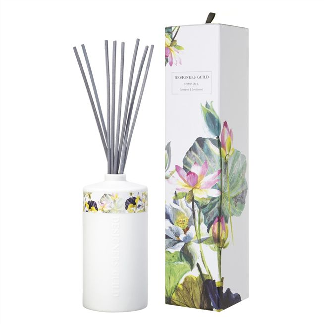 Nymphaea Candle and Diffuser Set