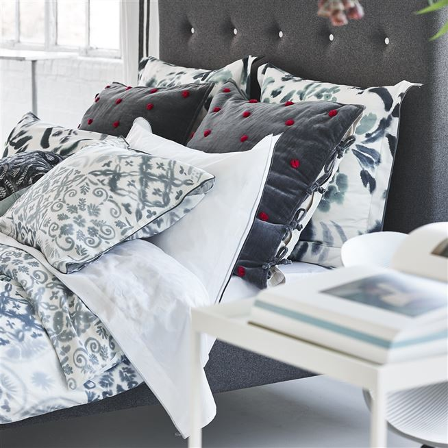 Cellini Graphite Bedding | Designers Guild