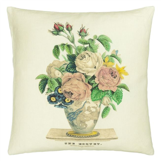 The Bouquet Parchment Cushion
