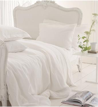 LINGE DE LIT WHITE COLLECTION >