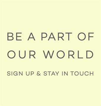SIGN UP AND STAY IN TOUCH