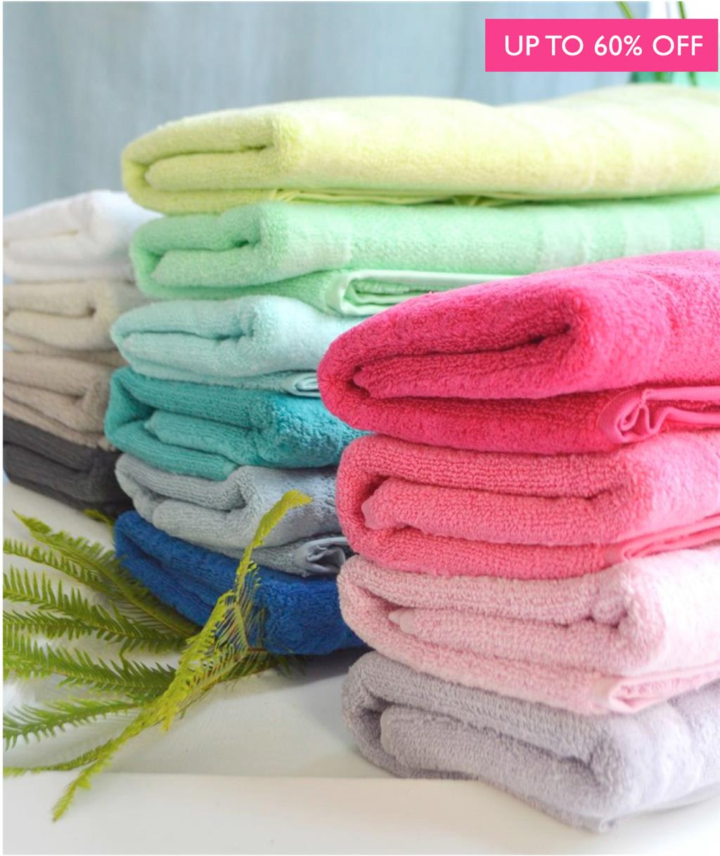 SHOP NEW TOWELS >