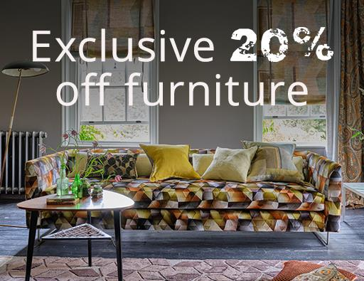 BESPOKE FURNITURE - 20% OFF >